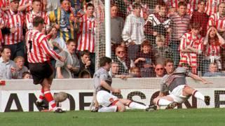 Saints 3 Man United 1 Le Tissier 1996